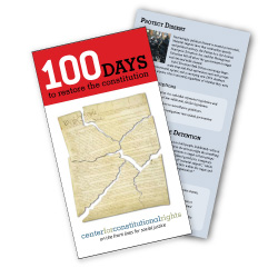 CCR's 100 Days Campaign Overview Brochure