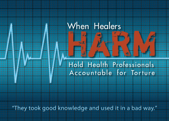 When Healers Harm website