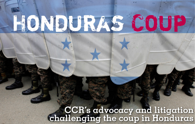 CCR's Work on the Coup in Honduras