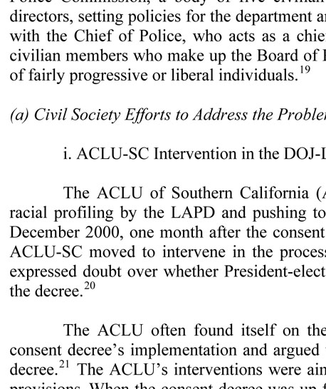 racial profiling essays conclusion 1 bc civil liberties association racial profiling position paper reem bahdi with olanyi parsons and tom sandborn i introduction racial profiling is both ineffective as a law enforcement strategy and offensive to.