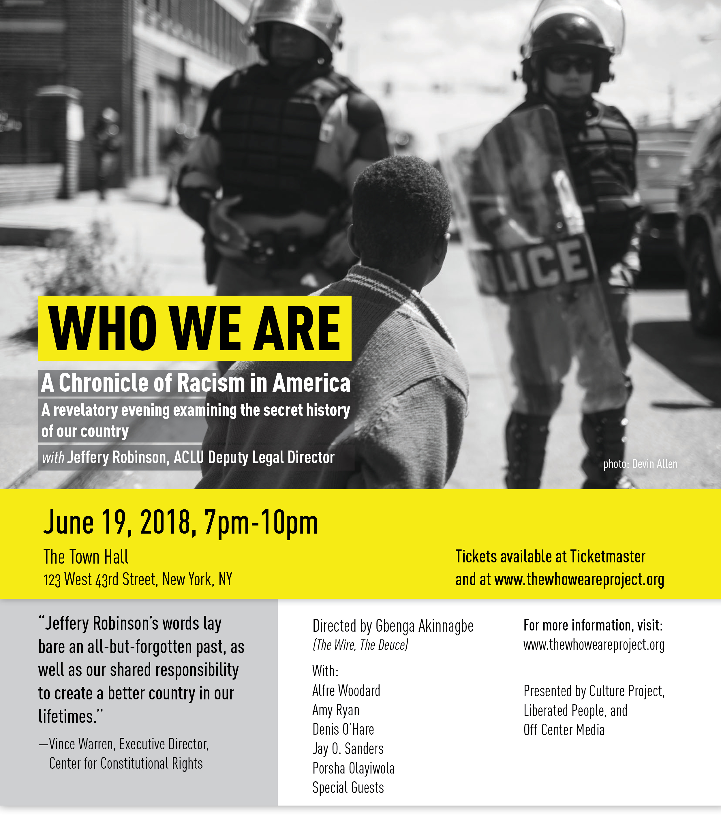 Who We Are: A Chronicle of Racism in America | Center for