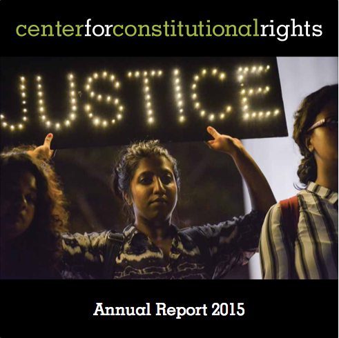 CCR Annual Report cover image