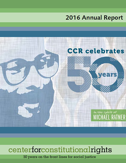 Annual Report  Center For Constitutional Rights