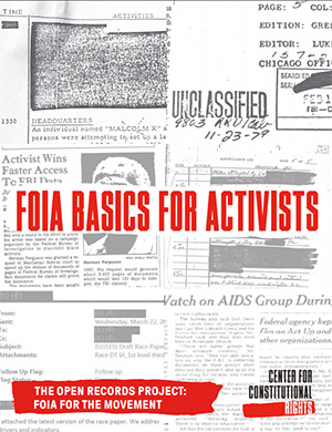Open Records Project: FOIA for the Movement