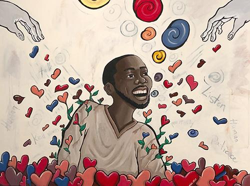 https://ccrjustice.org/sites/default/files/images/2020/01/Darlene Newman artwork: Try It. He's Human