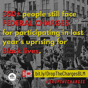 Drop the Charges BLM