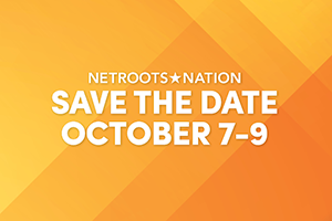 text reads save the date october 7 to 9