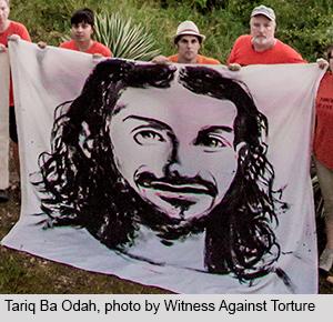 Tariq Ba Odah, photo by Witness Against Torture