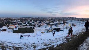 The Standing Rock encampments