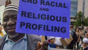 Sign: End Racial and Religious Profiling