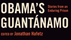 Obama's Guantanamo book cover