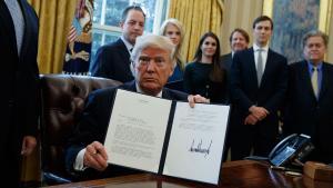 Trump holding order