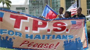 T.P.S. for Haitians please