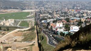 Border between U.S. and Mexico