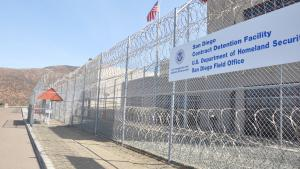 A San Diego immigrant detention center