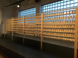 779 porcelain cups, one for every man held at Guantánamo since 2002