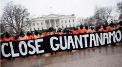 Close Gitmo protest at White House