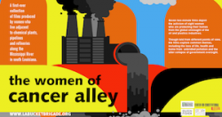 The Women of Cancer Alley flyer