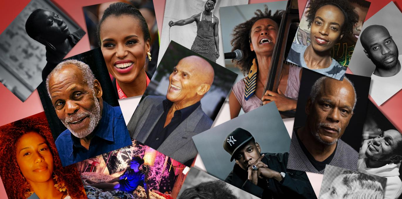 Black History Month collage