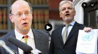 Julian Assange and Michael Ratner