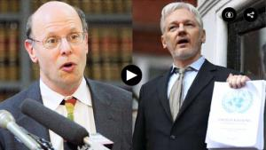 Julian Assange and Michael Ratner