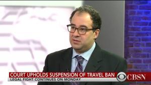 Baher Azmy on CBS News
