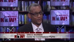 Vince Warren on Democracy Now