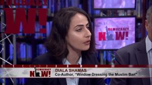 Diala Shamas on Democracy Now